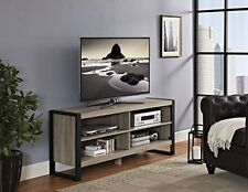 Walker Edison 58inch Urban Blend TV Console-Ash Grey W58UBC24AG TV stand NEW