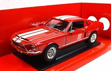FORD SHELBY MUSTANG GT-500KR 1968 RED 92168 1:18 NEW LUCKY ROAD SIGNATURE