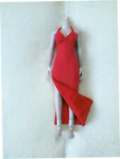 "1/6 Scale Clothing Red Dress Cheongsam For 12"" Action Figure"