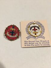 First And Second Year Baptist Sunday School Pins