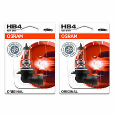 HB4 Osram Original Fog Light Bulbs Front Spot Lamps Genuine