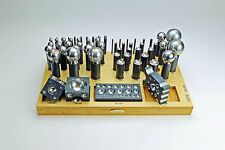 DELUXE 62 Pcs DAPPING FORMING PUNCH & CUTTER SET Jewelry Metalsmith PEPE Tools