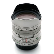 New smc Pentax FA 31mm F1.8 AL Limited Lens SILVER for K Mount