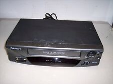 ORION 4 HEAD VHS PLAYER  MODEL # VR0211A