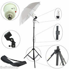 Kit Illuminatore Flash DynaSun SDW45 Cavalletto Stativo, Lampada Flash, Ombrello