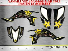 SCRUB DEKOR KIT ATV YAMAHA YFZ 450 04-14 GRAPHIC KIT D1456 B