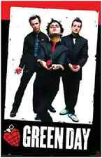 "Green Day Heart Poster 2004  Poster 24X36"" Inch"