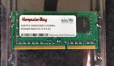 4GB DDR3 PC3 1066 1333Mhz Sodimm (buy 2 for 8GB) 204 pin RAM Memory laptop