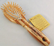 ECO FRIENDLY BAMBOO BRUSH HEALTHY HAIR OLIVIA GARDEN MASSAGE BRUSH HH-1 OVAL SMA