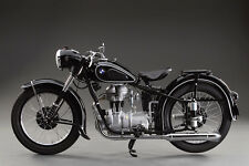 BMW R24 VINTAGE  MOTORCYCLE  LARGE POSTER 20 X 30  PHOTOGRAPY