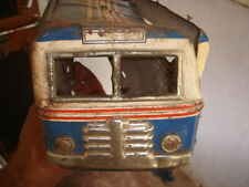 "INDIA - TIN TOY MADE IN JAPAN - SONICON BUS  - SIZE  14.1/2 "" X 3.3/4  """
