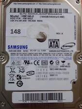 160 GB Samsung HM160JI / 2007.11 / PCB: M60S Rev 02 #148