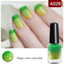 6ml Thermal Color Changing Peel Off Nail Polish Sequin Nail Art Varnish  A026