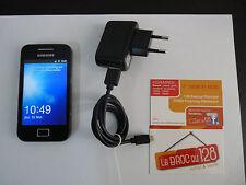 Téléphone Portable - Samsung Galaxy Ace GT-S5839i + Chargeur - Débloqué