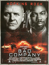 Affiche BAD COMPANY Schumacher ANTHONY HOPKINS Chris Rock 40x60cm *