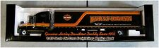 "Harley-Davidson 100th Anniversary 1:43 Die Cast Freightliner Replica Bank ""WOW"""