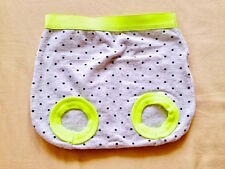 ♥ Baby Cotton On Grey Polka Bootie Short Pants Diapers Cover (0-3 months) ♥