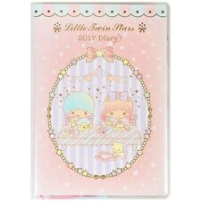 2017 Little Twin Stars Schedule Book Weekly Planner Agenda Diary A6 Green Sanrio