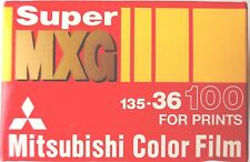 1 x MITSUBISHI MXG 100 35mm COLOUR PRINT FILM EXPIRED 1995  LOMOGRAPHY FILM