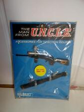 1960'S GILBERT MAN FROM UNCLE CAP FIRING TOMMY GUN ACCESSORY MINT ON CARD SEALED