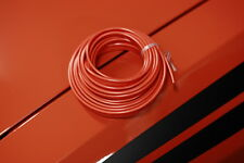 "ORANGE BURNT ORANGE HEMI ORANGE VINYL PVC PIPING WELT WELTING 1/8"" 3mm (pipi012)"