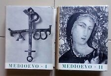 Eva Tea - MEDIOEVO Storia Universale dell'Arte - Ed.UTET Torino 1957 - 2 Tomi