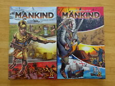 RARE LOT OF MANKIND: THE STORY OF ALL OF US VOLUMES 1 & 2 TPB GRAPHIC NOVELS!