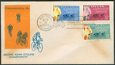 1965 Philippines SECOND ASIAN CYCLING CHAMPIONSHIP First Day Cover - B