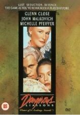 Dangerous Liaisons DVD Glenn Close John Malkovich New and Sealed UK Release R2