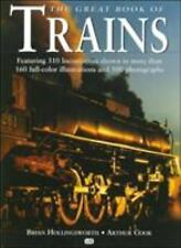 Great Book Ser.: The Great Book of Trains by Brian Hollingsworth and Arthur...