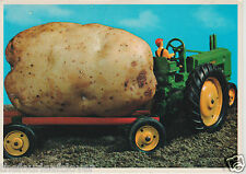 Canada New Brunswick Potato How They Are Grown Tractor PC