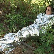 Notfall Folienthermoschlafsack Wander Erste-Hilfe-kampierendes Überlebens-Decke