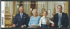 La grande-bretagne 2016 hm the queen's 90th anniversaire miniature feuille fine used
