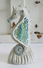 "6"" Seahorse with Mosaic Design Decorative Figurine HFE-823"