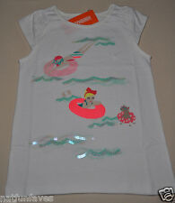 Gymboree girl size 6 NWT beach day tee shirt top girls 100% cotton