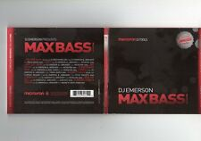 DJ Emerson - Max Bass Volume One - CD - TECHNO