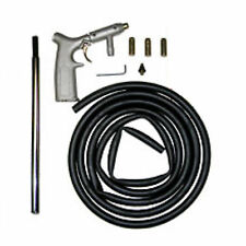 Sandblaster Kit 8pc Air Nozzles Sandblasting Gun Tubes Pick Up Sand Blaster New