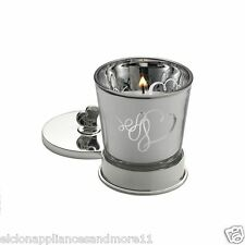 MIKASA Decor Love Story Votive Holder With Silver-Plated Vase & Lid #5081030