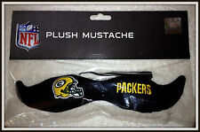 GREEN BAY PACKERS BLEACHER CREATURES PLUSH MUSTACHE NEW IN BAG FREE SHIPPING