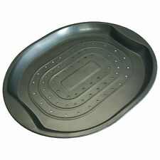 Non Stick Pizza Chips Oven French Fries Crisper Roasting Food Tray Carbon Steel