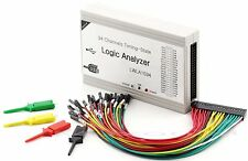 34CH 125MHz PC USB Logic Analyzer 34 channel  with support I2C SPI UART and PWM