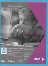 BELLEU000-PUBBLICITA'/ADVERTISING-2000- ASPIRE 6000 by ACER
