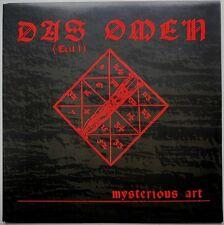 """7"""" DE**MYSTERIOUS ART - DAS OMEN (TEIL 1) (CBS DANCE POOL '89)***25094"""