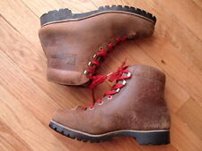 vtg 70s KASTINGER leather winter snowshoe snow hiking boots heavy duty womens 6