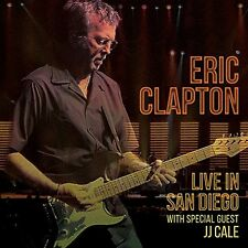 ERIC CLAPTON LIVE IN SAN DIEGO 2CD ALBUM with J.J. CALE (September 30th 2016)