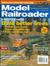 2007 Model Railroader Magazine: Build Better Trees/Mid-Scale N Scale Layout/LED