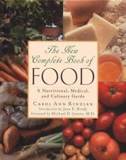 The New Complete Book of Food Rinzler, Carol Ann Hardcover