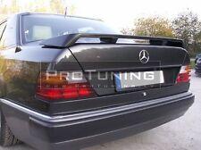 Mercedes benz E 84-95 w124 REAR TRUNK SPOILER WING Lip sport boot back door 124