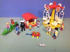 (M17) playmobil lot parc à jeux enfants