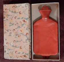 Rose O'Neill Adorable Hot Water Bottle with Original Kewpie Doll Type Box  G